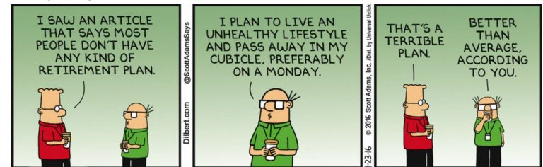 Dilbert Comic Strip-Retirement Planning